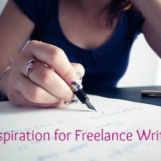 Inspiration for Freelance Writers