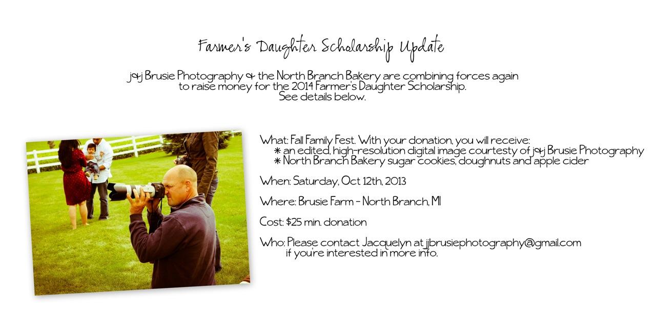 Farmer's Daughter Scholarship - Chaunie Brusie