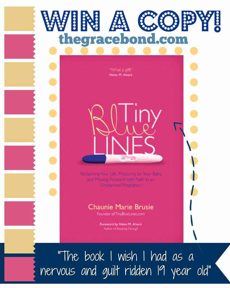 TIny Blue Lines Giveaway Grace Bond