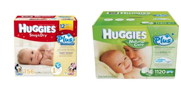 Huggies Diapers & Wipes
