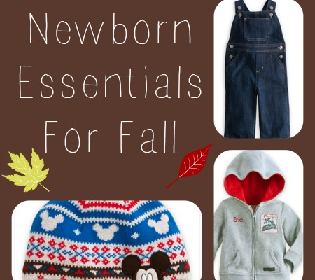 Newborn Essentials For Fall