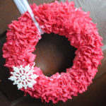 I Did It! The Beautiful T-Shirt Valentines Day Wreath