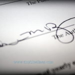 Signing My Book Contract!