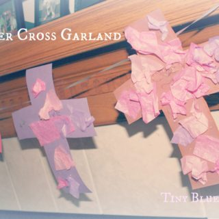 Easter Cross Garland