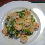 Weekly Meal Plan, Featuring Shrimp and Asparagus Risotto
