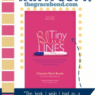 Win a Free Copy of Tiny Blue Lines From The Grace Bond