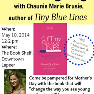 Attend The First Tiny Blue Lines Book Signing!