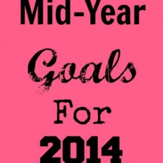 My Mid-Year Goals for 2014