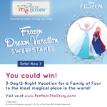 Win a Trip To Disney World With Frozen!