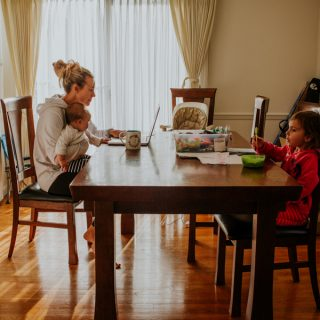 Inside the Secret World of Work-From-Home Moms