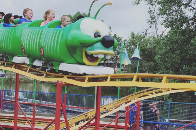 santa's village dundee worm coaster